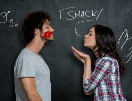 Misophonia and lip smacking